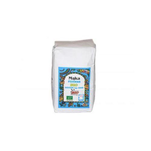 Bio babalscy Mąka pszenna razowa bio typ 2000 1kg
