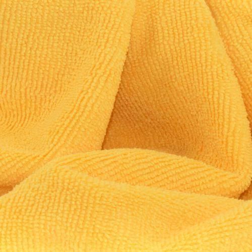 Mop Żółty mikrofibra Gosia (sukienka) najlepszy do drewna paneli i parkietu, produkt marki maxczysto