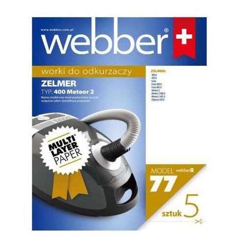 Webber 02WWZ400 Zelmer Typ 400 4 x 5 szt. - produkt w magazynie - szybka wysyłka! - sprawdź w wybranym sklepie