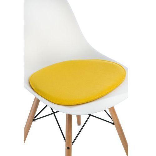 Poduszka na krzesło Side Chair żółta - D2 Design - Zapytaj o rabat!