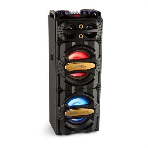 Fenton LIVE2101 Party Station kolumna 800W odtwarzacz multimedialny USB/BT 2x6,3mm wejście mikrofonowe