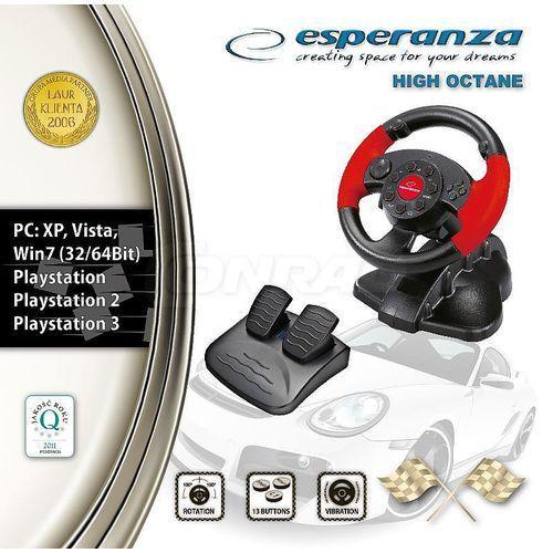 Kierownica Esperanza High Octane do PC PS1 PS2 PS3 (5905784769295)
