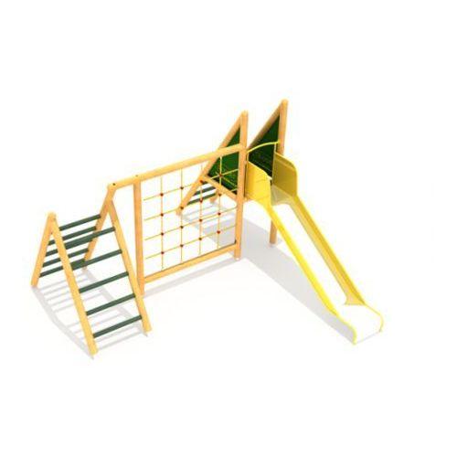 Croquet Plac zabaw ze ścianką wspinaczkową bąk 1