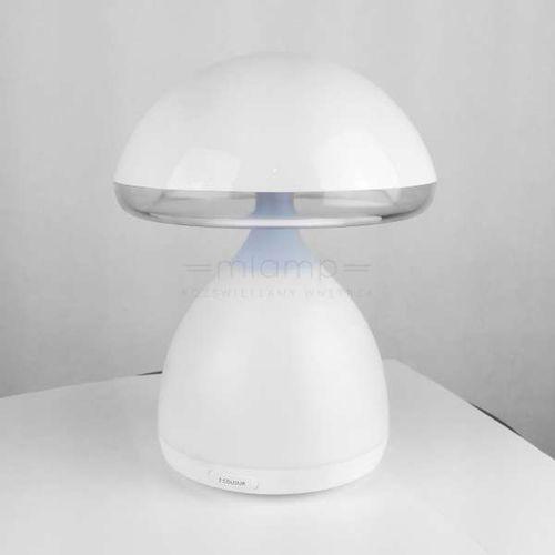 Stojąca LAMPA biurkowa NILHG002 nocna LAMPKA na dotyk LED 5W z regulacją czarna, NILHG002