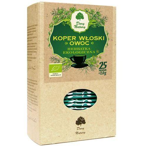 Dary natury - herbatki bio Herbatka z owocu kopru włoskiego bio (25 x 2 g) - dary natury