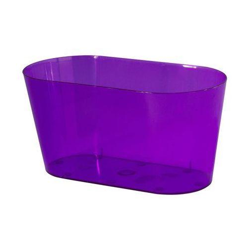 Form-plastic Osłonka na storczyki 26.7 x 13.5 cm plastikowa fioletowa (5907474333717)
