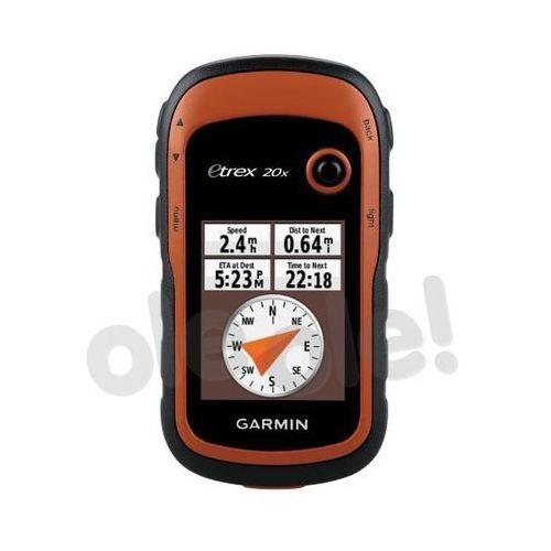 Garmin eTrex 20x - produkt w magazynie - szybka wysyłka! (0753759141981)
