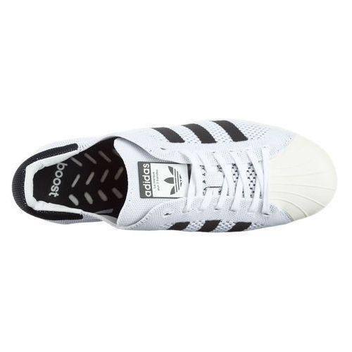 Adidas originals superstar boost primeknit sneakers biały 43 1/3