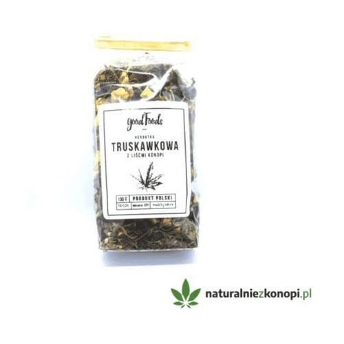 Herbata truskawkowo konopna 100g