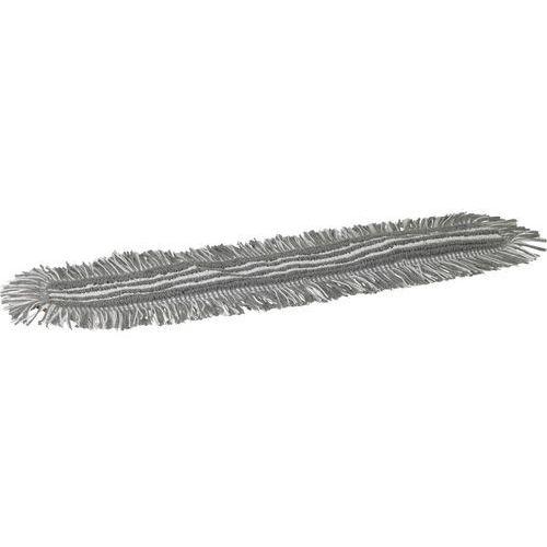 Mop Damp 48, do sprzątania na wilgotno, na rzepy, szary, 600 mm, VIKAN 548760 ze sklepu Gastrosilesia