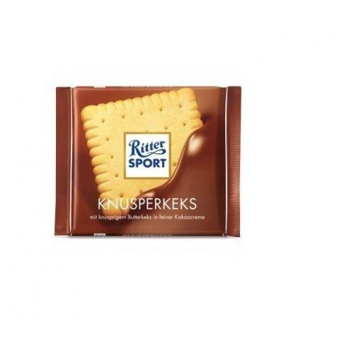Ritter sport czekolada 100g ciasteczkowa (4000417214003)