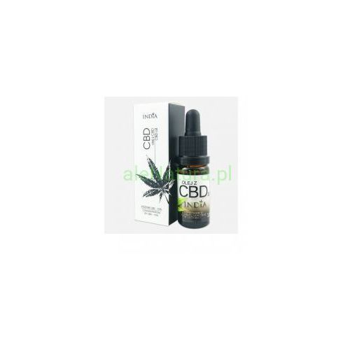 INDIA COSMETICS olej CBD z konopi 10% 10ml