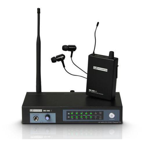LD Systems MEI ONE 1, bezprzewodowy, douszny system monitorowy (863.700 MHz)