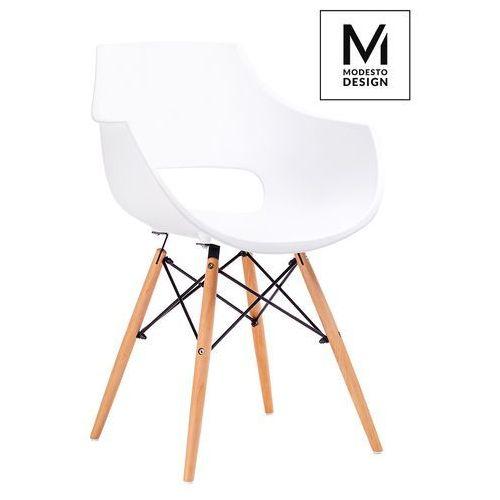 Fotel FORO biały PW007.WHITE - King Home - Sprawdź kupon rabatowy w koszyku, kolor biały