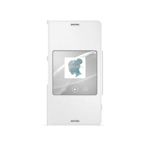Sony Etui scr26 do xperia z3 copmact biały + darmowa dostawa + odbiór w 800 punktach stacji z paczką!