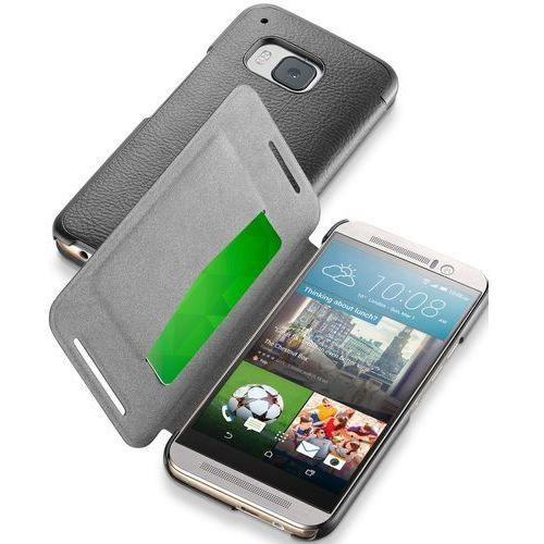 Cellular Line Etui Book Essential do HTC One M9, Czarne (CBOOKESSENM9K) Darmowy odbiór w 21 miastach!, CBOOKESSENM9K