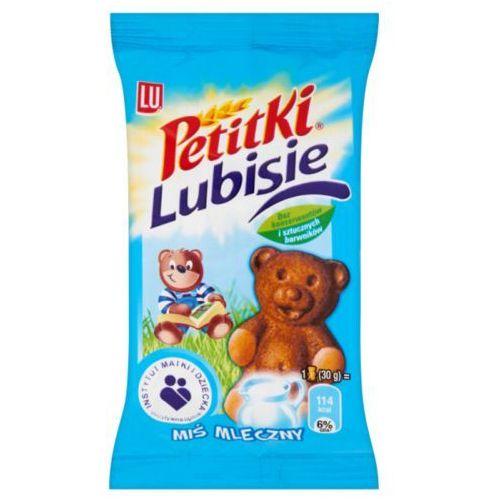 Lu Ciastko biszkoptowe z nadzieniem petitki bisie miś mleczny 30 g