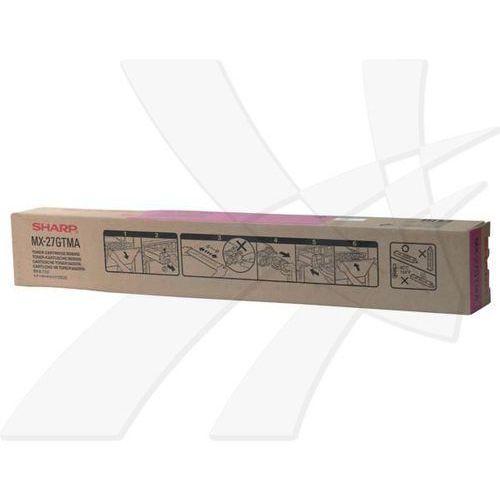 Sharp oryginalny toner MX-27GTMA, magenta, 15000s, Sharp MX-4500N (4974019492575)