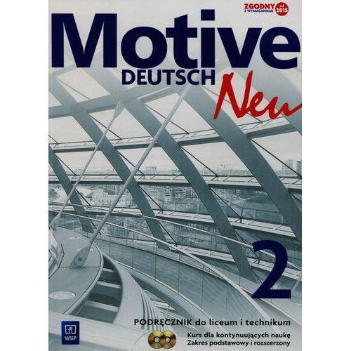 Motive Deutsch Neu 2 Podręcznik dla kontynuujących naukę + 2CD Zakres podstawowy i rozszerzony - Wysyłka od 3,99 (164 str.)