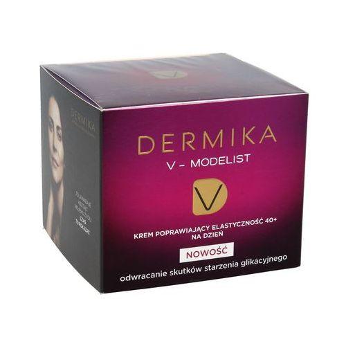 Dermika v-modelist 40+ krem poprawiający elastyczność na dzień 50ml