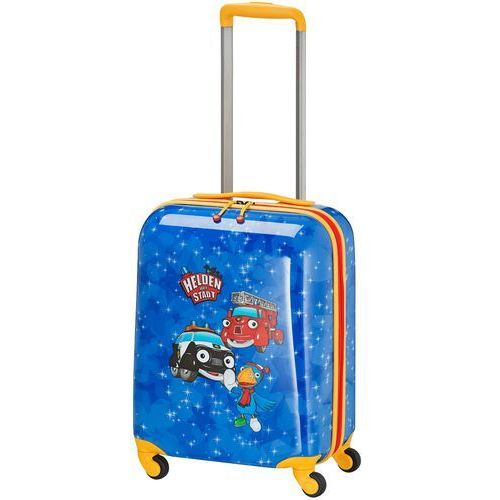 Travelite bohaterowie miasta walizka mała kabinowa dla dzieci 18/43 cm / niebieska - navy (4027002064621)