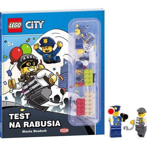 LEGO ® City. Test na rabusia, pozycja z kategorii Książki dla dzieci