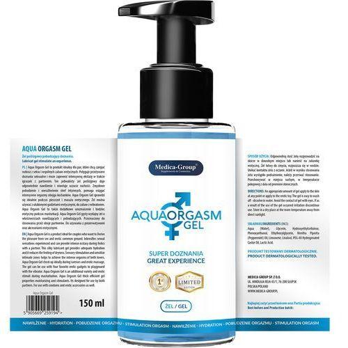 Aqua Orgasm Gel 150 ml - Żel poślizgowy pobudzający doznania
