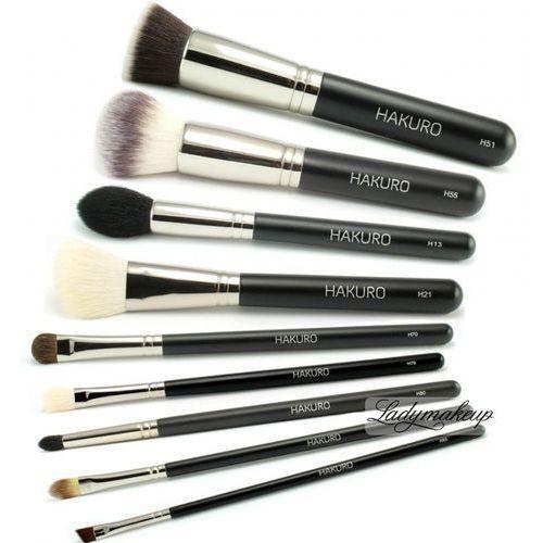 - zestaw 9 pędzli do makijażu marki Hakuro