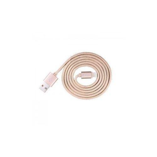 Kabel  certyfikowany mfi 2m do iphone lightning rose gold wyprodukowany przez Devia