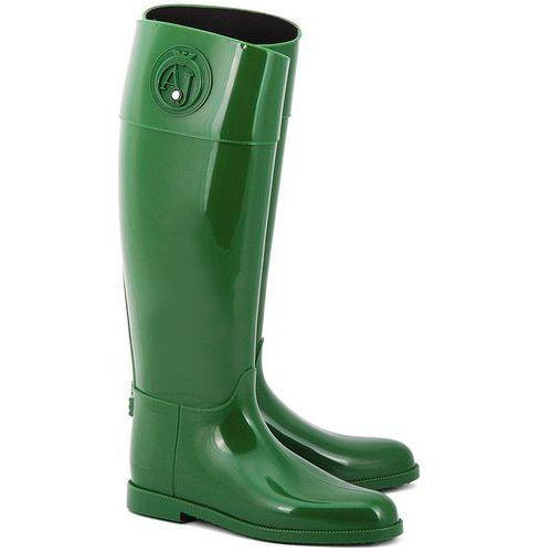 Stivali Pioggia - Zielone Gumowe Kalosze Damskie - Z5590 56 (kalosz damski) od La Moda