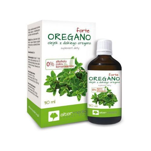 Alter medica jan szupina Oregamol forte olejek - 30 ml