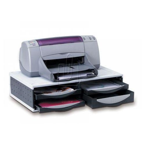 Podstawka pod drukarkę/fax srebrno-czarna Fellowes 24004, 84760