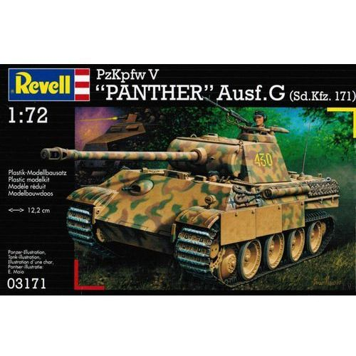 Revell Kpfw. v panther ausg. g 03171