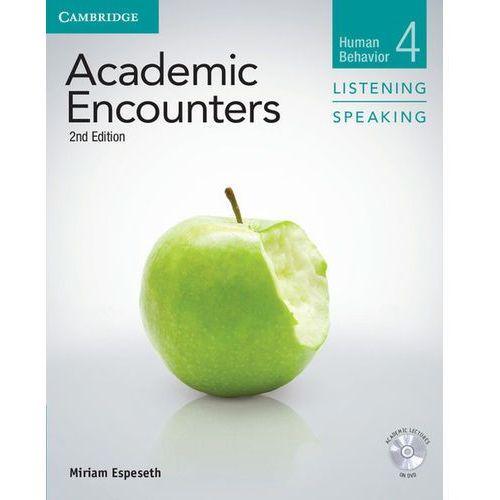 Academic Encounters: Human Behavior. Listening & Speaking. Podręcznik + CD, oprawa miękka