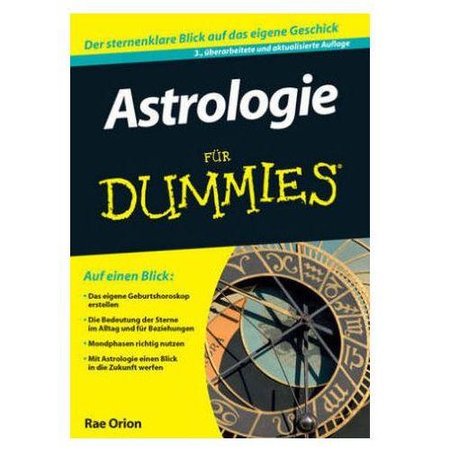 Astrologie für Dummies Orion, Rae
