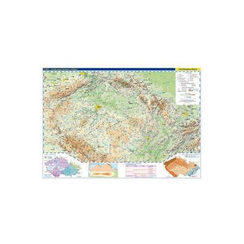 Česká republika - školní nástěnná fyzická mapa 1:375 tis./136x96 cm neuveden