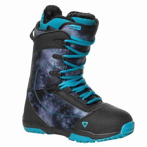 Buty snowboardowe - aura black (black) rozmiar: 40 marki Gravity