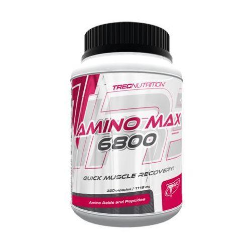 Trec nutrition Aminokwasy trec aminomax 6800 320tabs najlepszy produkt