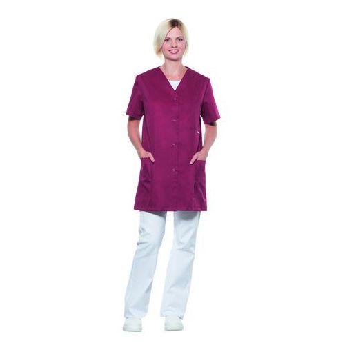Kitel medyczny damski, rozmiar 46, bordowy | KARLOWSKY, Mara