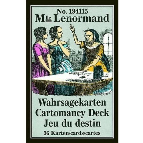 Mademoiselle Lenormand Wahrsagekarten, Orakelkarten. Cartomancy Deck, Jeu du destin (9783898756082)