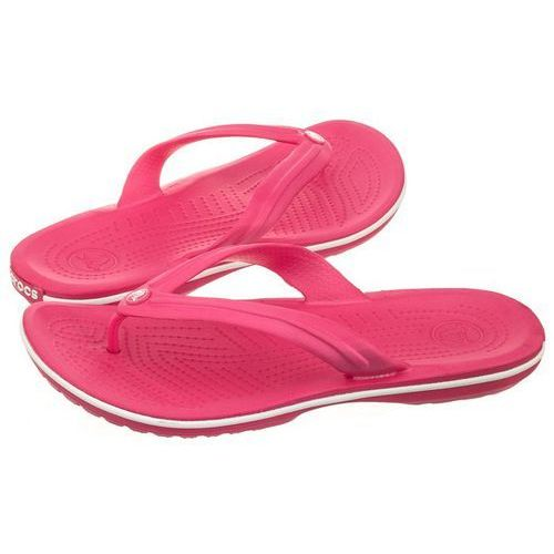 Japonki crocband flip paradise pink/white 11033-6nr (cr86-i), Crocs