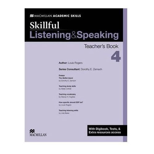 Skillful 4 Listening and Speaking. Książka Nauczyciela + Digibook, Macmillan