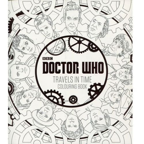 Doctor Who - Travels in Time Colouring Book, Penguin Books