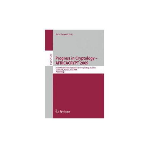 Progress in Cryptology - AFRICACRYPT 2009 (9783642023835)