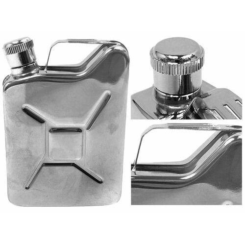 Piersiówka kanister - stal nierdzewna, 170 ml, ciekawy prezent, 175D-4185C