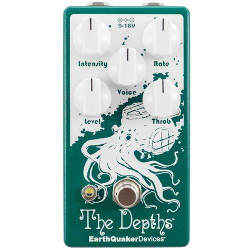 Earthquaker devices the depths v2 - optical vibe machine efekt do gitary elektrycznej