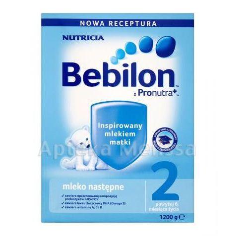 BEBILON 2 Z PRONUTRA Mleko modyfikowane w proszku - 1200 g (mleko dla dzieci)