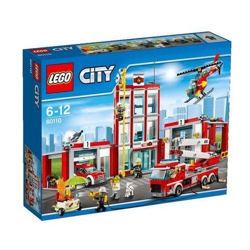 Lego City Remiza strażacka (straż pożarna zabawka)