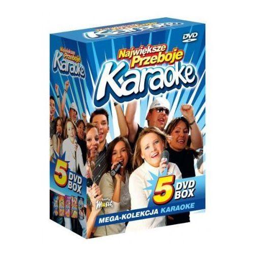 Największe Przeboje Karaoke VOL. 1 - Mega Kolekcja Karaoke (5 płyt DVD) (5902143600145)