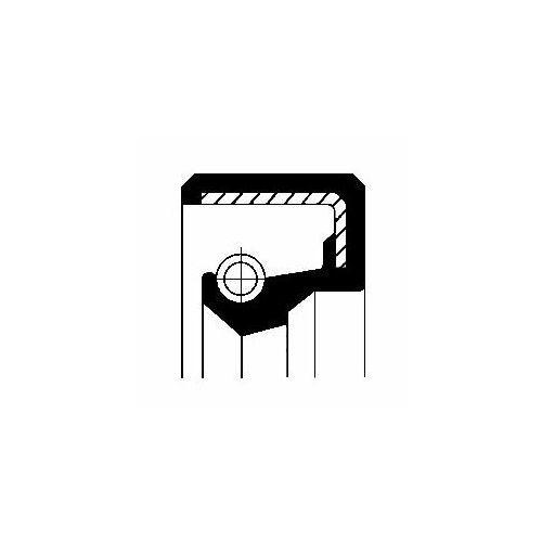 Corteco Pierścień uszczelniający wału, piasta koła 12010981b (3358960338853)